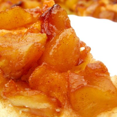 torta di mele capovolta