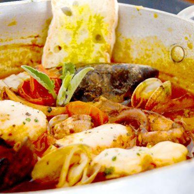 zuppa di pesce di Cortone
