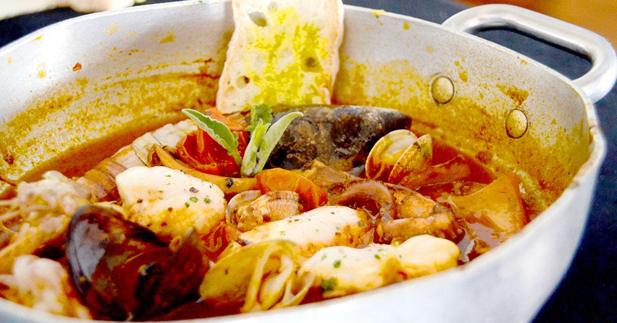 Zuppa di pesce di Crotone