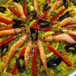 Paella madrilena