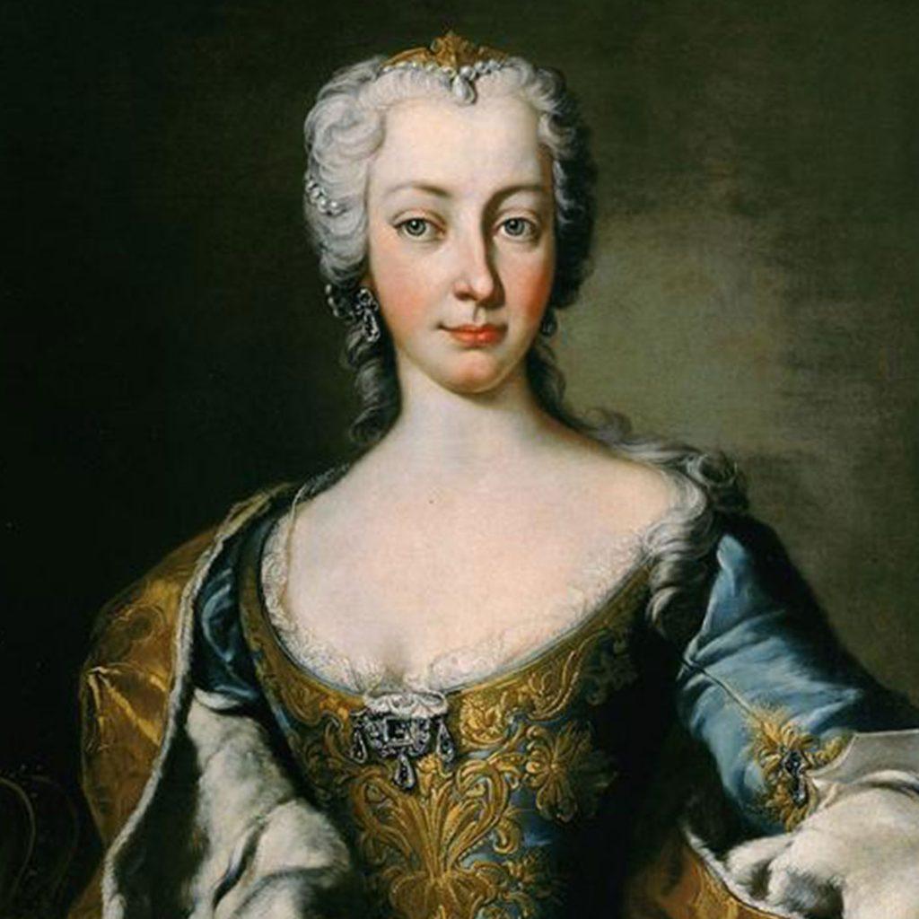 Maria Teresa d'Austria e la pastiera